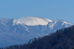 早春の浅間山 DSC_7325