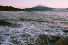 海から望む