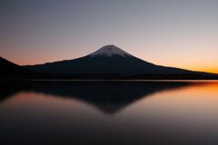 師走の田貫湖