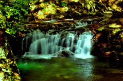 清流~そして虹見の滝へ