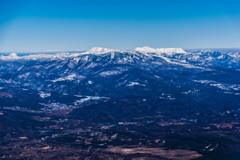 志賀高原の山々