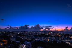 夜明け 沖縄