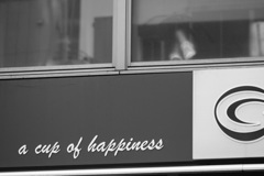 A cup of hapiness