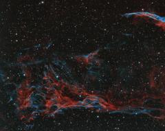 網状星雲 ピッカリング三角形