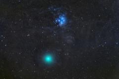 16日のウイルタネン彗星