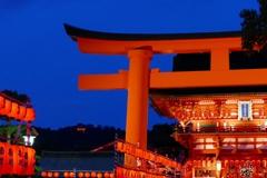 京都 伏見稲荷大社 宵宮祭