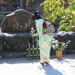 京都 祇園白川 かにかくに祭
