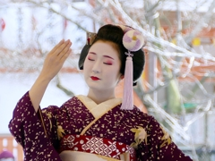 京都 節分祭 祇園東に奉納舞踊 II