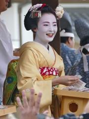 京都 節分祭 祇園甲部による豆撒き IV