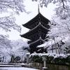 京都 雪景色 真如堂 II