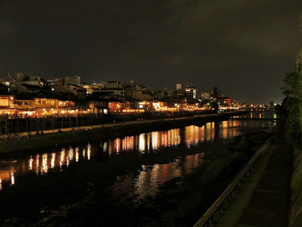 京都 夏の鴨川