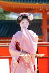 京都 平安神宮 春の奉納舞踊