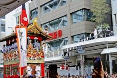 京都 祇園祭 令和最初の注連縄切り