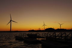 竜洋海洋公園の夕暮れ#03
