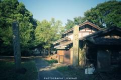 佇む岩子島厳島神社