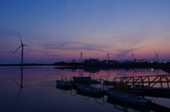 竜洋海洋公園の夕暮れ#01