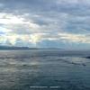 台風と晴れの境目で