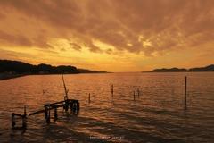 細江大橋からの夕景