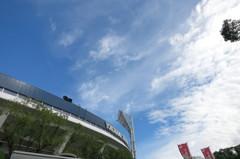 スタジアムの空
