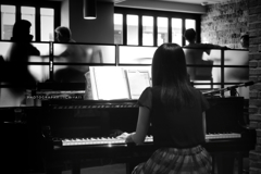 Afternoon with piano music