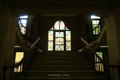 静岡市静岡庁舎のステンドグラス