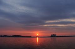 初日の出(藍雲) - DSC08596