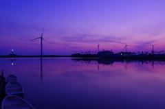 竜洋海洋公園の夕暮れ#02