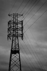 鉄塔mono-chrome