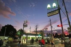 出町柳駅前、黄昏時の喧騒