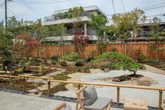 小江戸川越のスターバックス その3 中庭