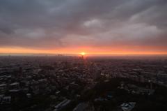 名古屋夕景 2
