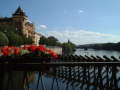 プラハのヴルタヴァ川