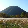 ススキと榛名富士