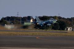 入間基地航空祭2017 F-2帰投(2)