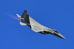 入間基地航空祭2017 F-15帰投(8)