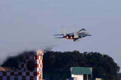 入間基地航空祭2017 F-15帰投(3)