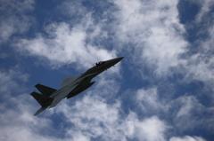 F-15J 第303飛行隊 機動飛行