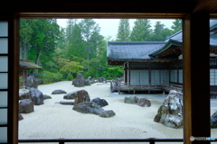 雨の蟠龍庭