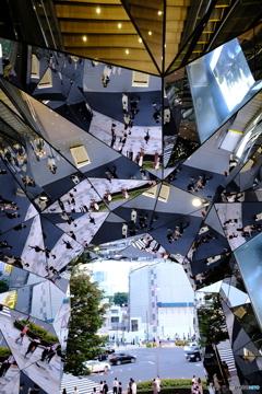 Harajuku patchwork mirror