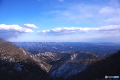 爽快な冬山