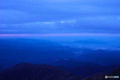 鳥居峠からの一望