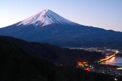 目覚めの富士山
