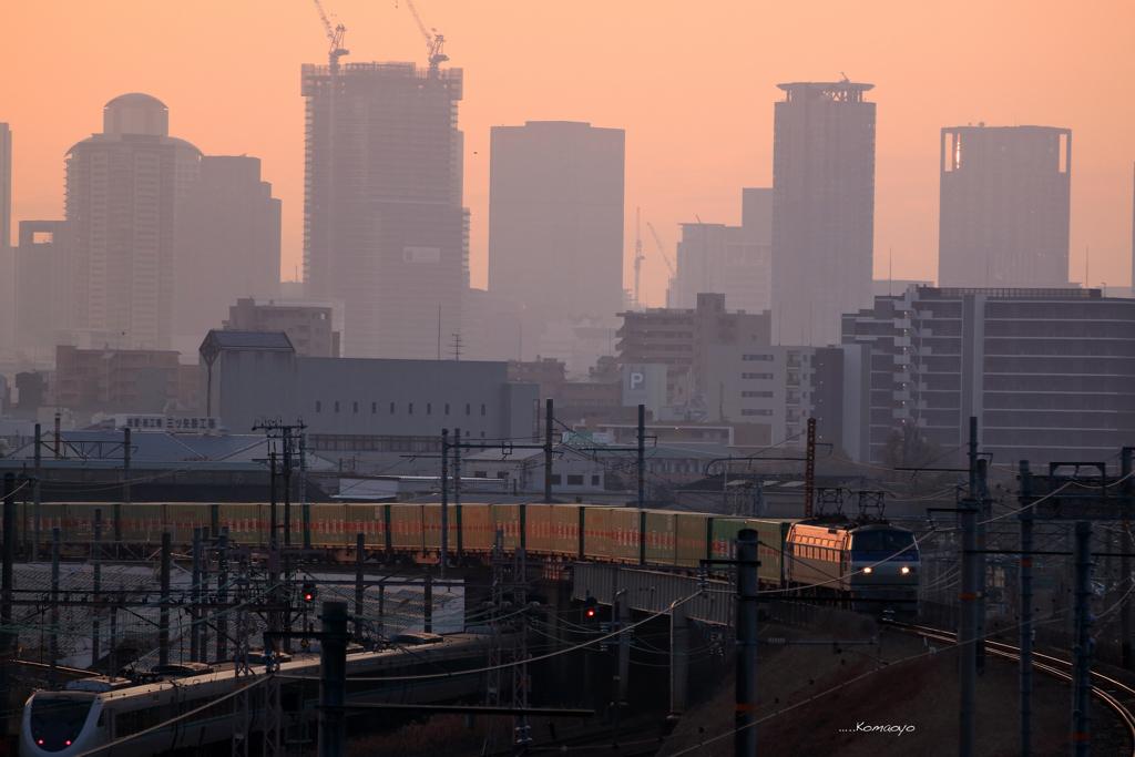 福山通運列車