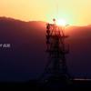 夕暮れの電波塔