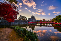 松本城の紅葉(追加分)
