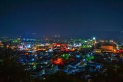 秩父 見晴らしの丘の夜景