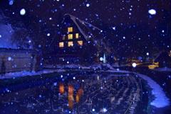 白川郷の夜2