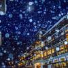 銀山温泉の雪景色(修正版)