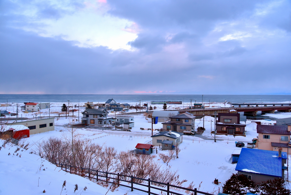 オホーツク海が見える丘