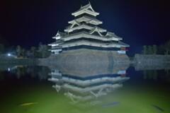 夜の松本城2